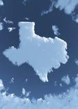 Tejas en nubes Fotografía de archivo