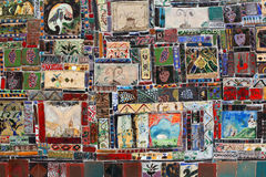 Tejas hechas a mano Imágenes de archivo libres de regalías