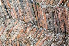 Tejas medievales de la chimenea Fotografía de archivo libre de regalías