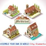 01 tejas medievales isométricas