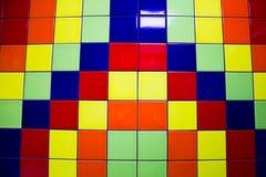 Tejas multicoloras para el fondo Imagenes de archivo
