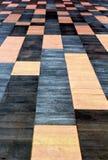 Tejas negras y anaranjadas Imagenes de archivo