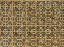 Tejas portuguesas reales para las texturas y los fondos imagen de archivo