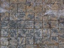 Tejas sucias de la calle Imagen de archivo libre de regalías