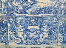 Tejas tradicionales de Portugal Imagenes de archivo