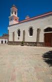 Tejeda, Gran Canaria. Church in Tejeda village, Gran Canaria stock photography