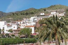 Tejeda, piękna wioska w górach Gran Canaria Fotografia Royalty Free