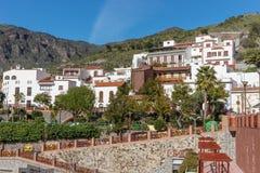 Tejeda, piękna wioska w górach Gran Canaria Fotografia Stock