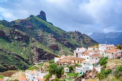 Free Tejeda - Village In Mountain Scenery In Gran Canaria - Beautiful Canarian Island Of Spain Royalty Free Stock Photos - 160728928