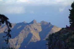 Tejeleche-Berge Stockbild