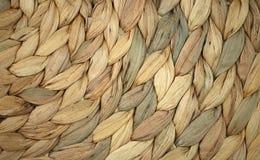 Tejido alrededor de textura de la cesta Foto de archivo