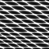 Tejido de la célula, red, panal, fondo de cercado blanco y negro abstracto Foto de archivo