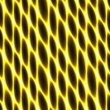 Tejido de la célula, red, panal, oro abstracto que cerca el fondo ilustración del vector