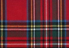 Tejido escocés, líneas texturizadas, de alta resolución Fotos de archivo