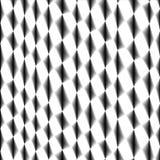 Tejido rombal de la célula, red, fondo de cercado blanco y negro abstracto stock de ilustración