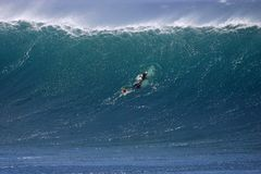 Tejita della La della spuma di Shorebreak immagine stock