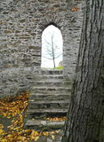 Tejn Castel, Moravia, repubblica Ceca del ¡ di CornÅ immagini stock