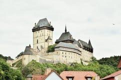 Tejn do ¡ de KarlÅ, Karlstein, castelo Imagem de Stock Royalty Free