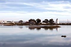 河tejo 图库摄影