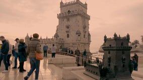 Tejo most w Lisbon zbiory wideo