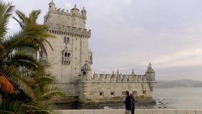 Tejo most w Lisbon zdjęcie wideo