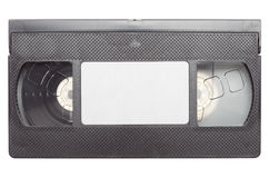 tejpad videocassetten Royaltyfri Bild
