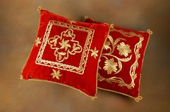 Tekad - handcrafted pillow stock photo