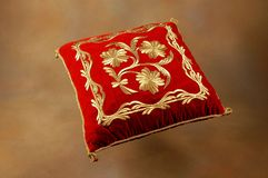 Tekad - handcrafted pillow royalty free stock image
