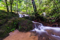 Tekala Waterfall. This among popular waterfall in selangor, malaysia Royalty Free Stock Photography