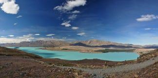 tekapo λιμνών στοκ εικόνες με δικαίωμα ελεύθερης χρήσης