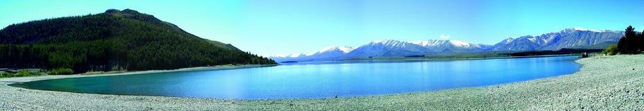 tekapo озера Стоковые Изображения RF