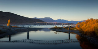 Tekapo Bridge Royalty Free Stock Image