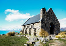 Tekapo church   new zealand Royalty Free Stock Images