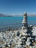 Tekapo do lago Imagem de Stock Royalty Free