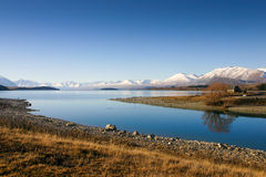 Tekapo Nuova Zelanda Immagine Stock Libera da Diritti