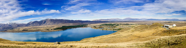 Tekapo See, Neuseeland stockfotografie