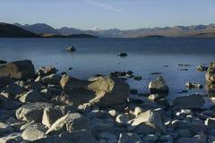 tekapo zealand озера новое стоковое изображение