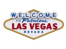 Teken 1 van Vegas van Las Stock Afbeeldingen
