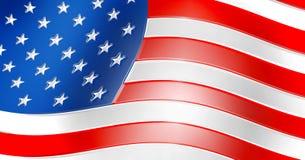 Teken als vlag van de V.S. Royalty-vrije Stock Fotografie