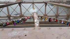 Teken, Bakstenen, dichtbij de Brug van Brooklyn Royalty-vrije Stock Foto