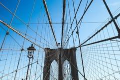Teken, Bakstenen, dichtbij de Brug van Brooklyn Stock Foto