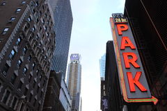 Parkeerterrein in New York Royalty-vrije Stock Afbeeldingen