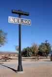 Teken bij het Depot van Kelso Stock Afbeeldingen