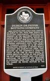 Teken Dublin Dr. Pepper Stock Foto