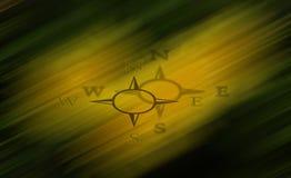 Teken-in het oosten, het westen, het noorden, zuiden Royalty-vrije Stock Foto