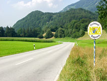 Teken het vrije van Beieren (Freistaat Beieren) Royalty-vrije Stock Foto