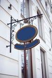 Teken op het gebouw Royalty-vrije Stock Fotografie