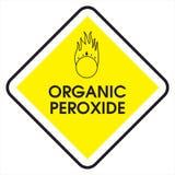 Teken organisch peroxyde Stock Afbeeldingen