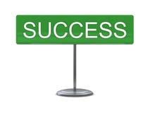 Teken - succes vector illustratie