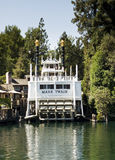 Teken Twain Disneyland Californië Stock Foto's